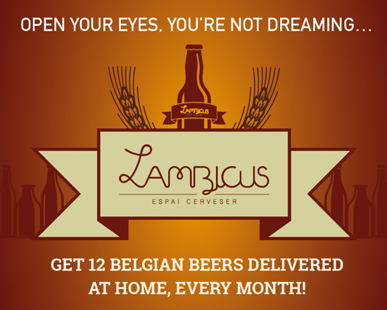 Club Lambicus - Receive 12 belgian beers at home monthly
